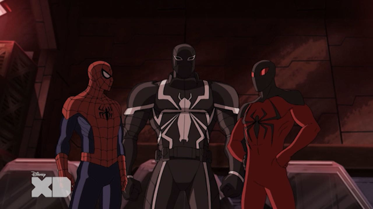Ultimate Spiderman - Agente Venon