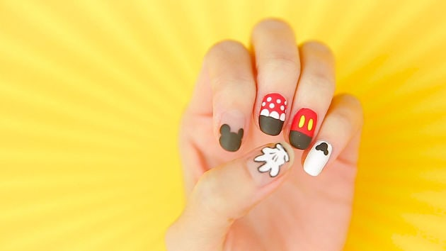 Mickey minnie nail art tutorial disney video video thumbnail for mickey amp minnie nail art tutorial prinsesfo Image collections