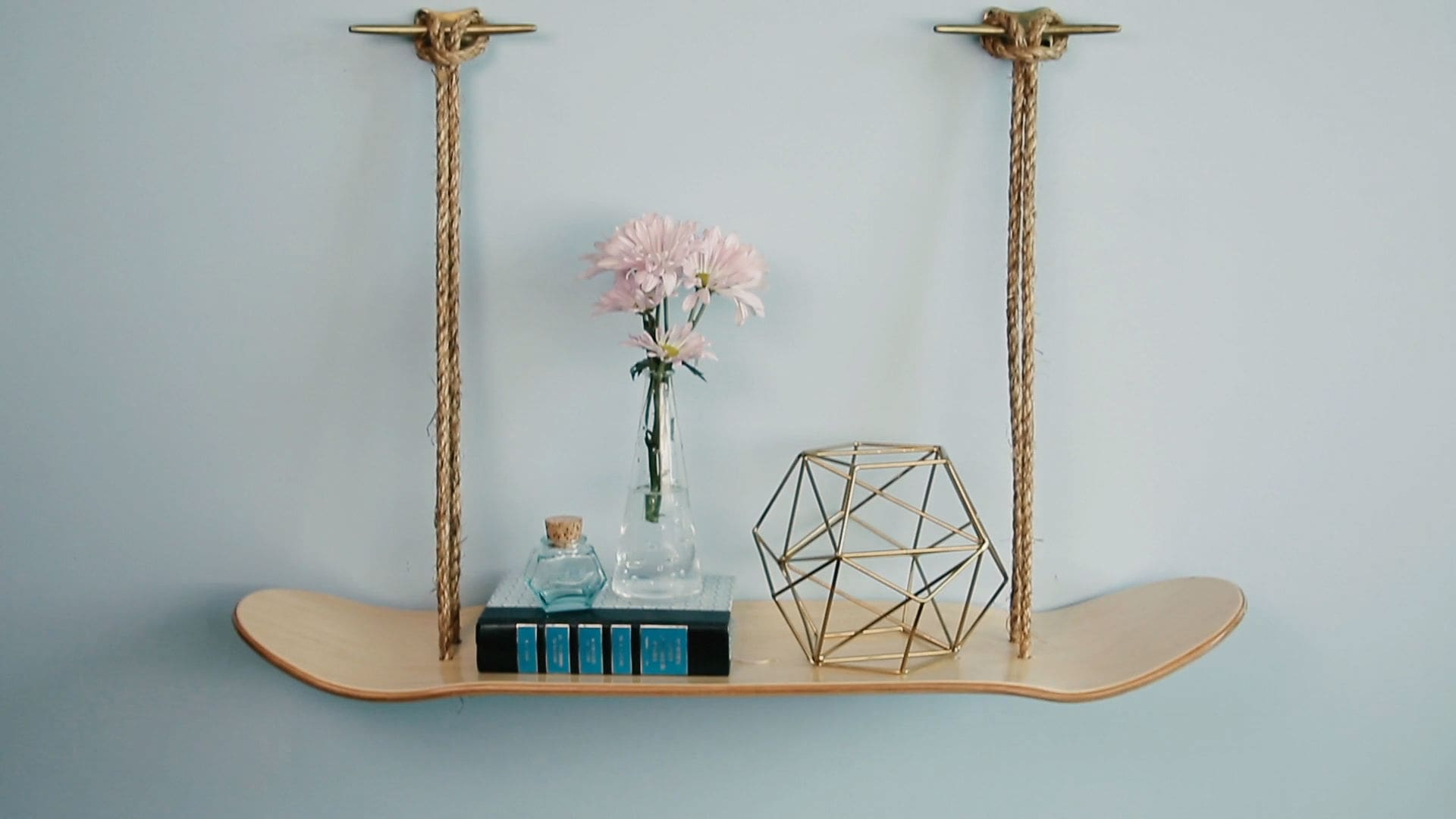Skateboard Shelf | Babble DIY