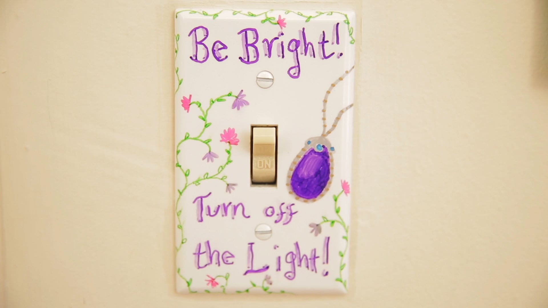 Save Energy Light Switch Covers | Babble DIY