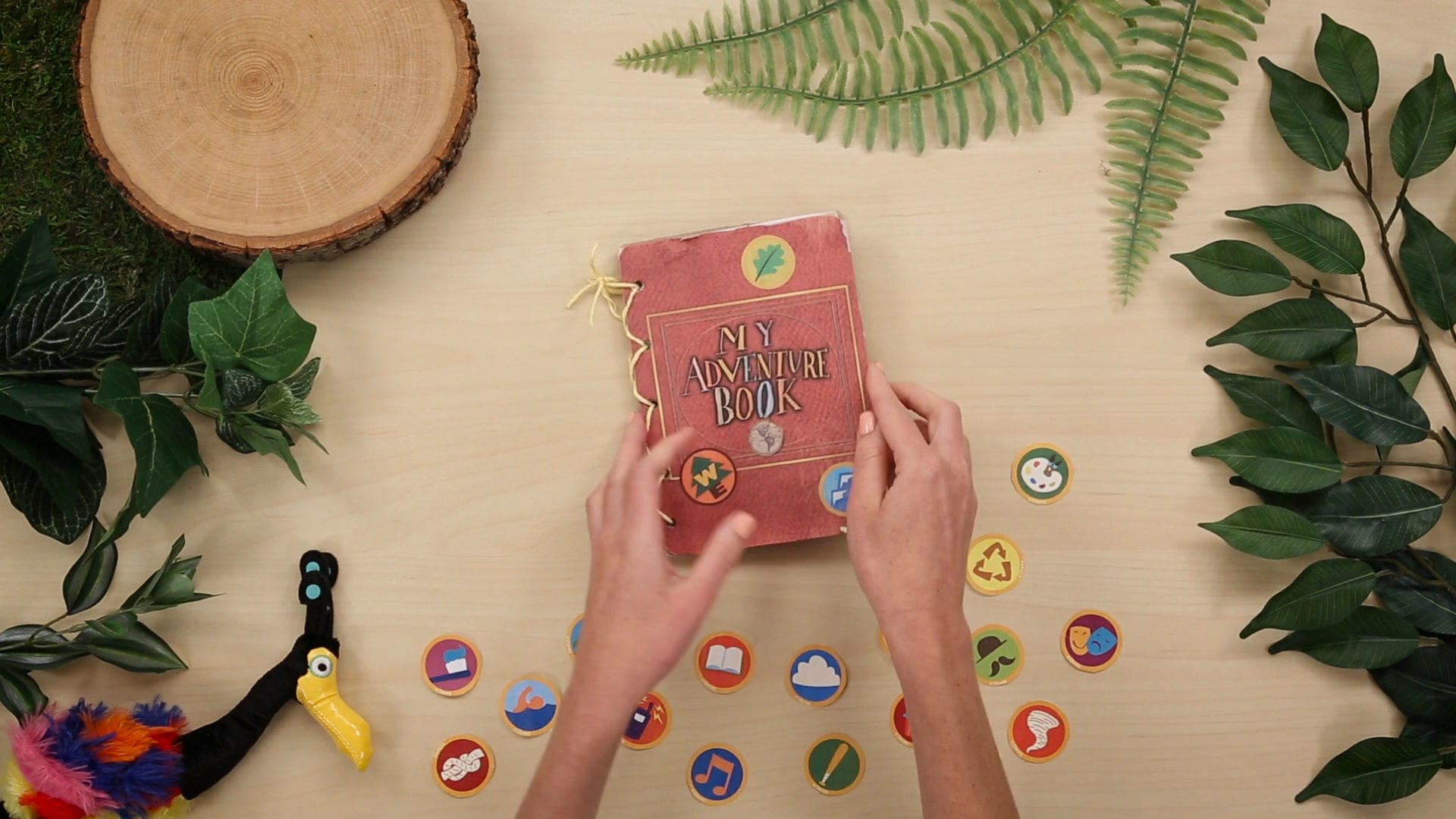 My Summer Adventure Book | Up! | Disney DIY