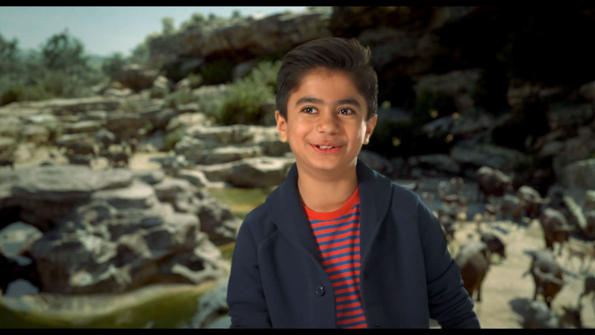 Neel Sethi's audition for The Jungle Book