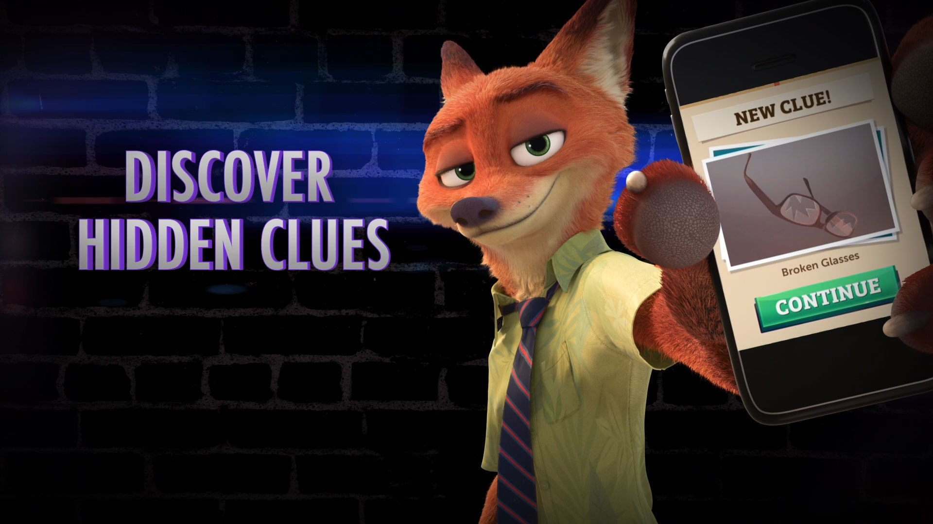 Zootopia Crime Files: Hidden Object Launch Trailer