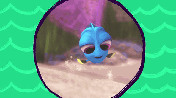 Easily Distracted | Finding Dory