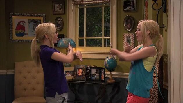 Liv And Maddie Boom Disney Lol