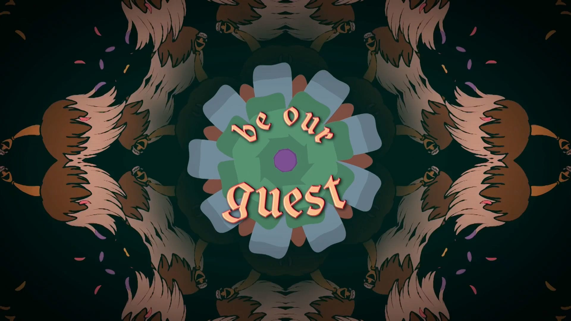 Be Our Guest Oke | Beauty and the Beast