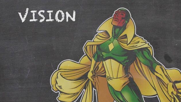 Vision - Marvel 101