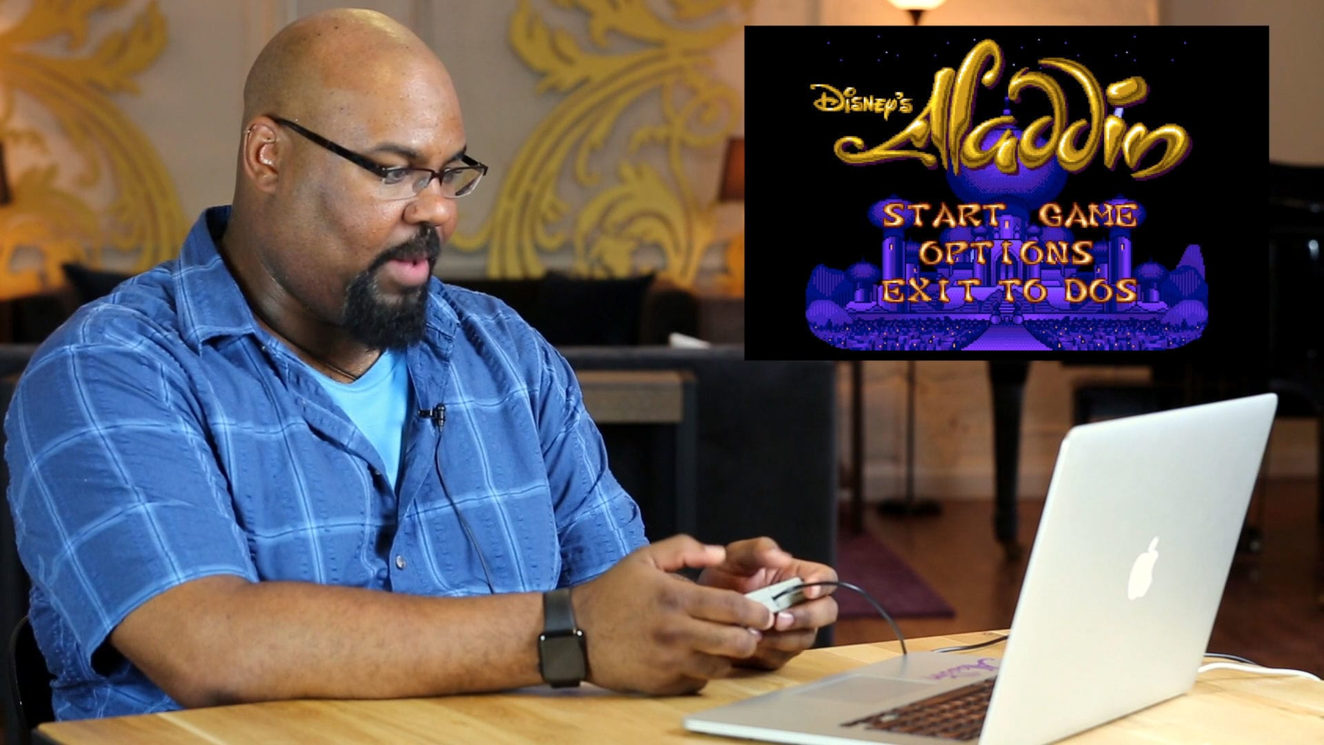 Broadway's ALADDIN Reacts to 16-Bit ALADDIN
