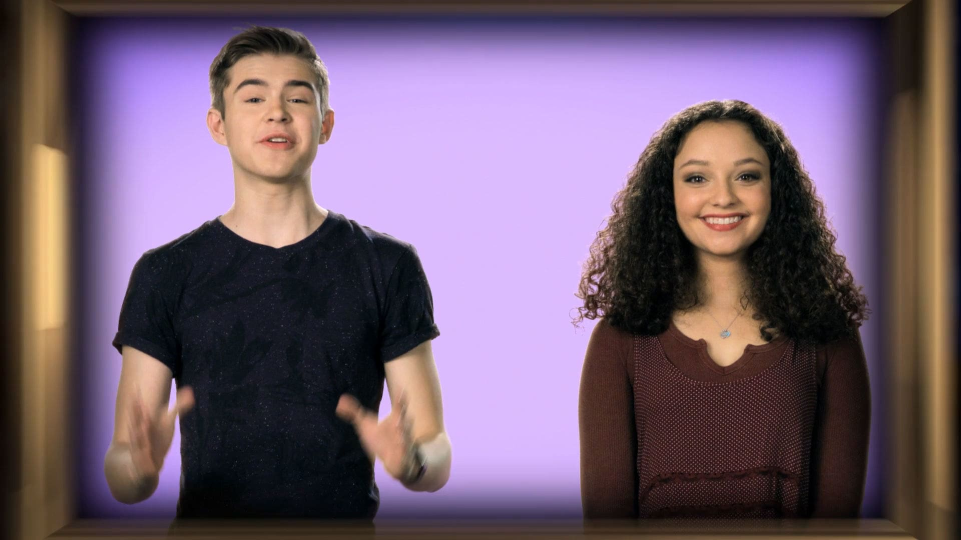 Fun Facts with DC Talent Gus & Kayla | Beauty and the Beast
