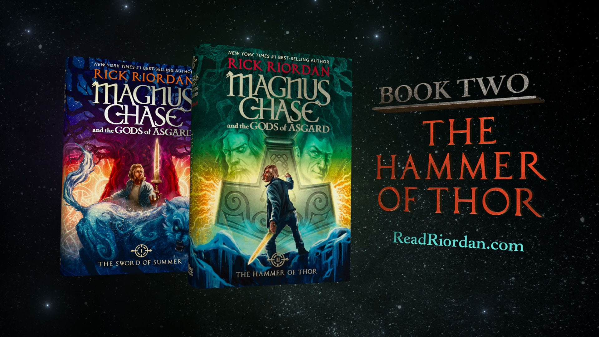 magnus chase and the gods of asgard the hammer of thor disney video