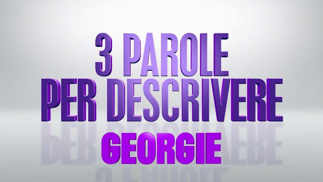 Tre parole per descrivere: Georgie