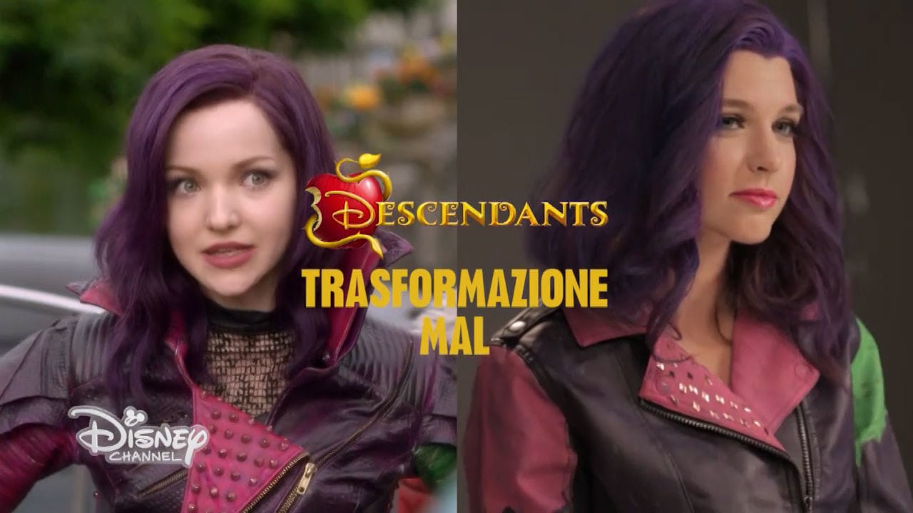 Tutorial Makeup: Mal (Descendants)