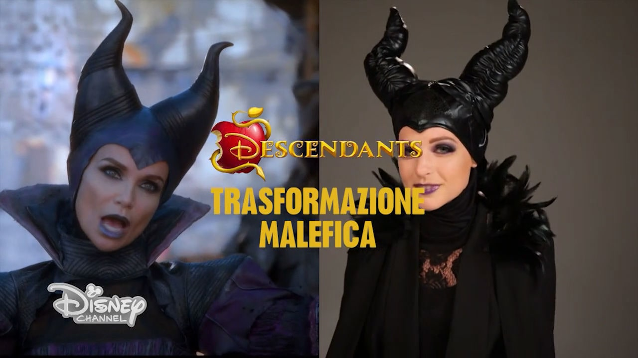 Tutorial Makeup: Malefica (Descendants)