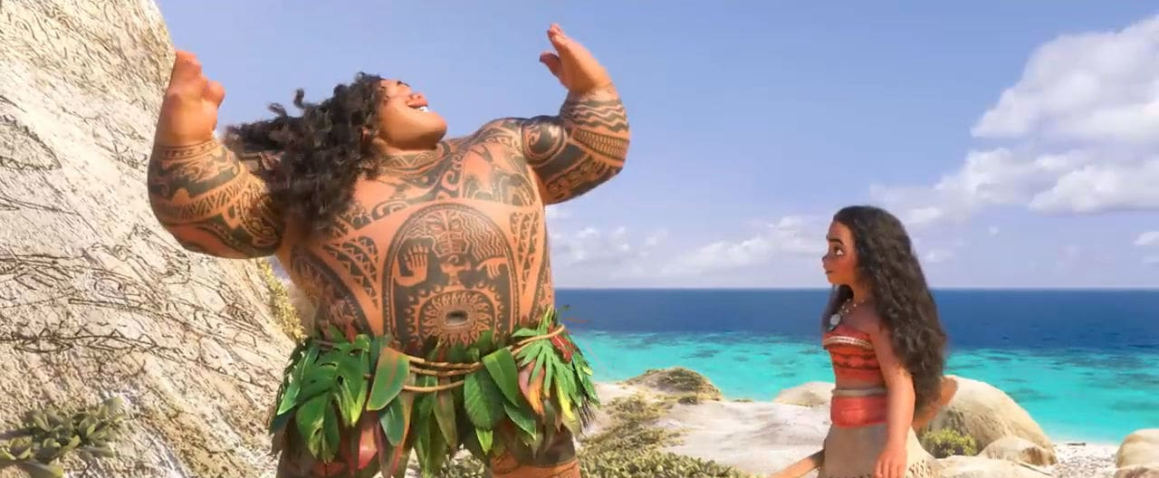 Watch: Moana - 'You're Welcome' Music Video