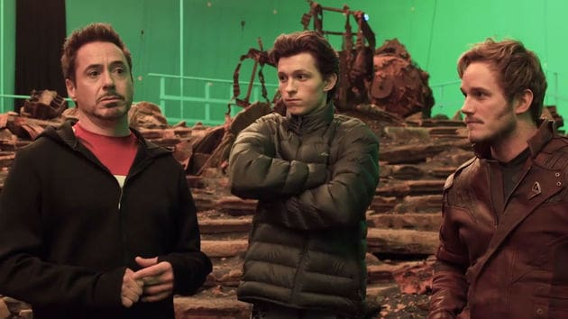 Avengers Infinity Wars: Featurette: Shooting Begins