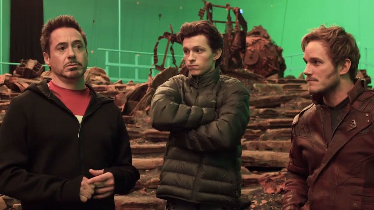Avengers Infinity War: Featurette: Shooting Begins