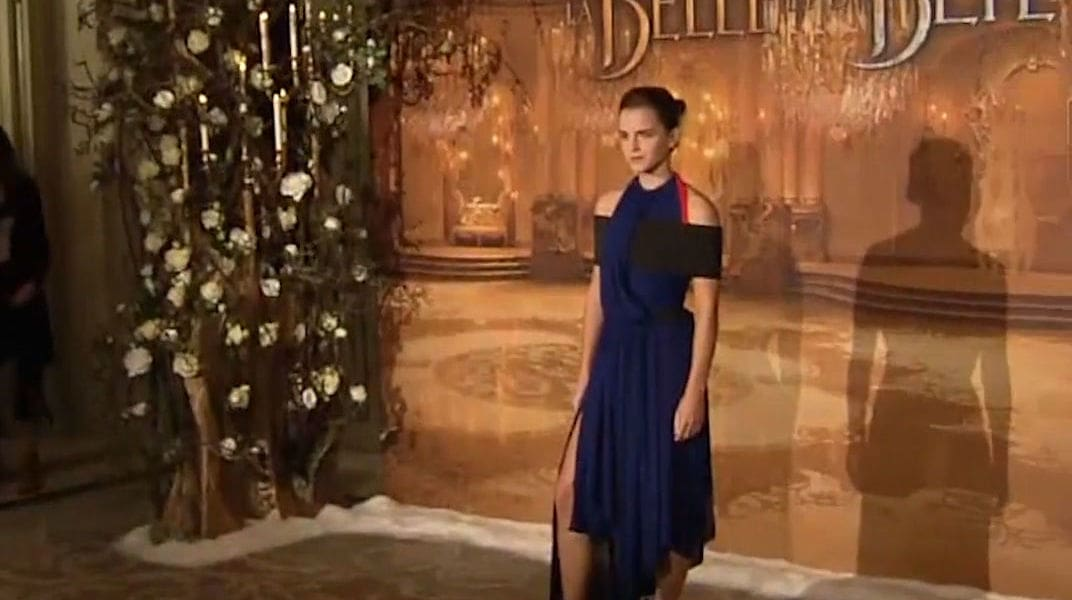 Emma Watson's Best Sustainable Looks from the Beauty and the Beast Tour