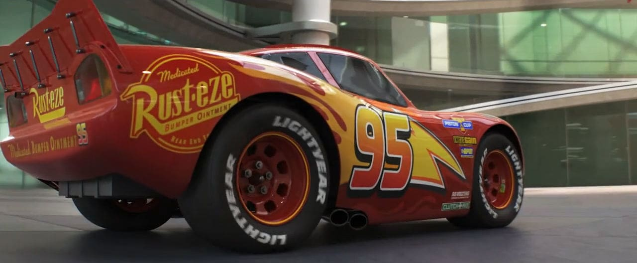 Cars 3: No F1 Teaser Sizzle