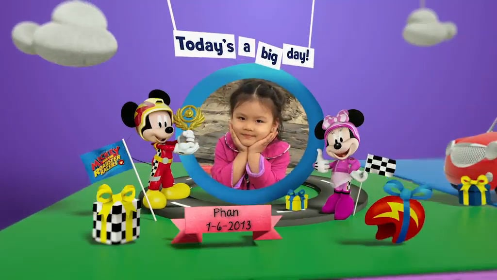 Disney Junior Birthday Book 2017 June Album 1
