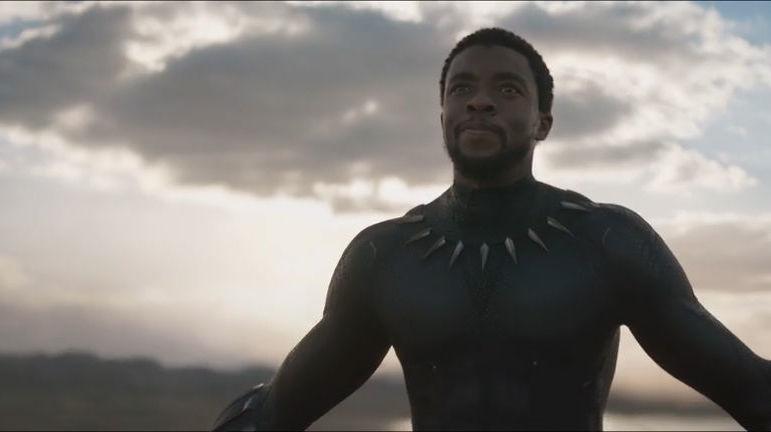 ตัวอย่างแรก Black Panther
