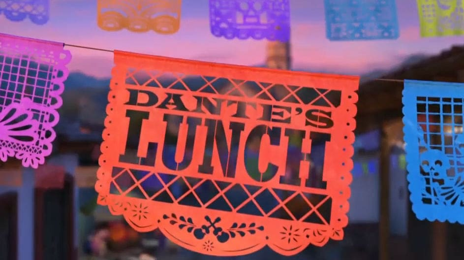 Coco: Dantes Lunch - A Short Tail