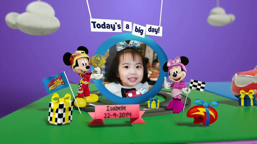 Disney Junior Birthday Book 2017 September Album 1