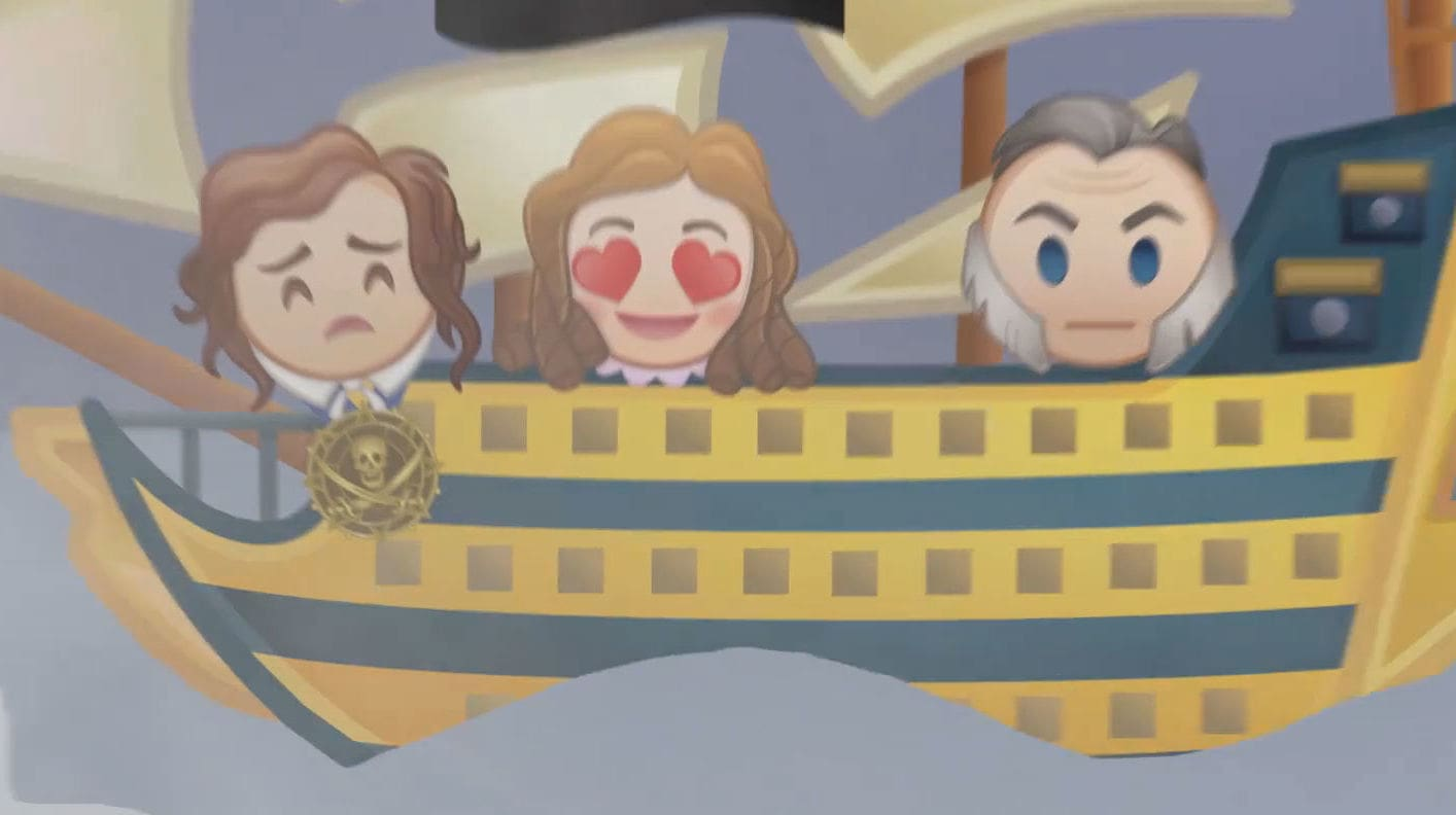 Pirates of the Caribbean: Dead Men Tell No Tales As Told By Emoji