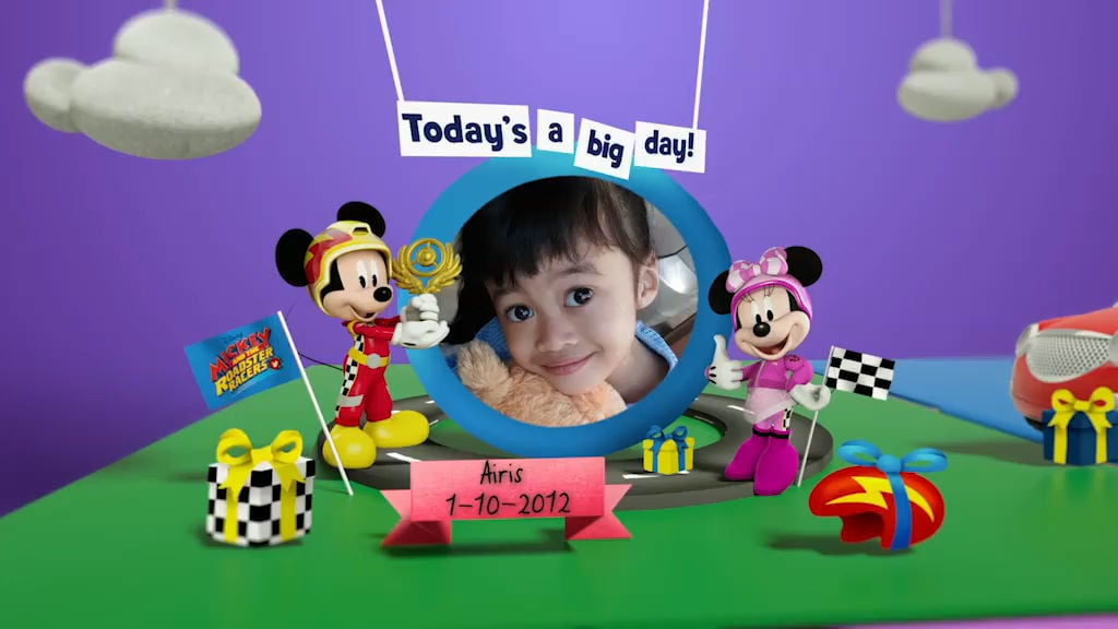 Disney Junior Birthday Book 2017 October Album 3