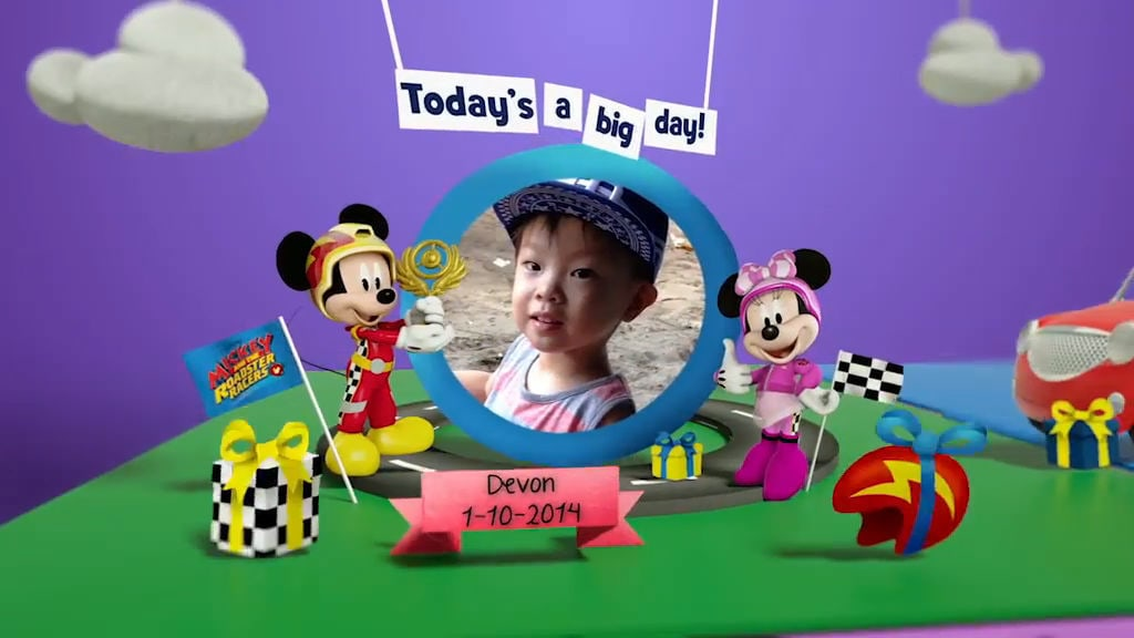 Disney Junior Birthday Book 2017 October Album 12
