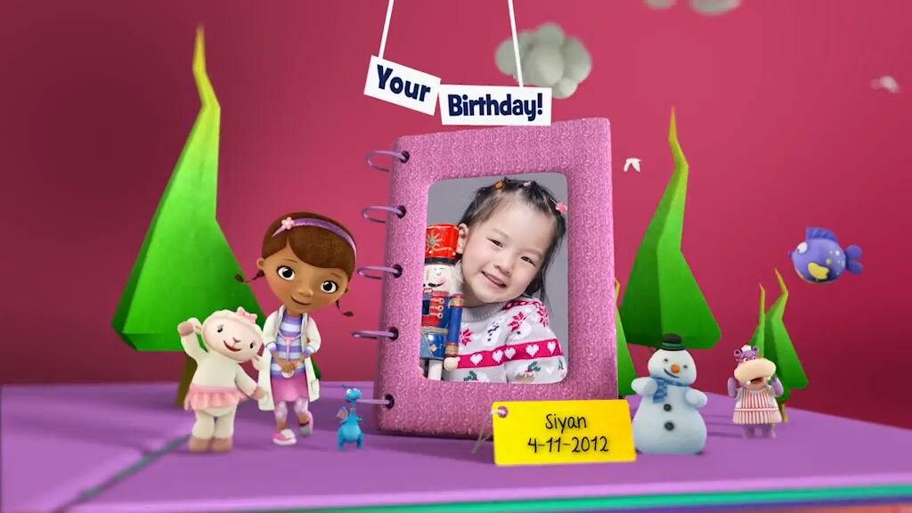Birthday Book Disney Junior Indonesia