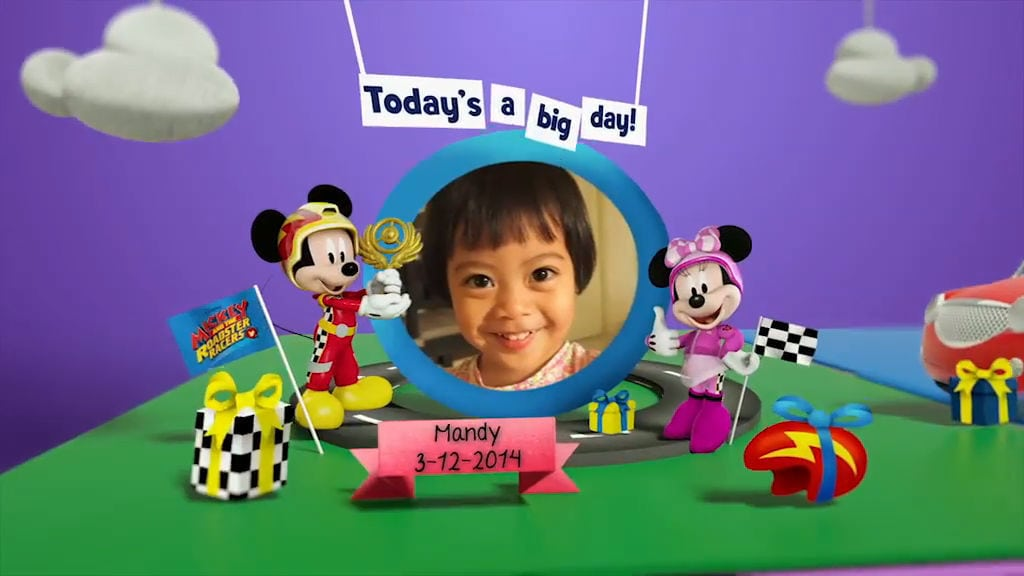 Disney Junior Birthday Book 2017 December Album 7