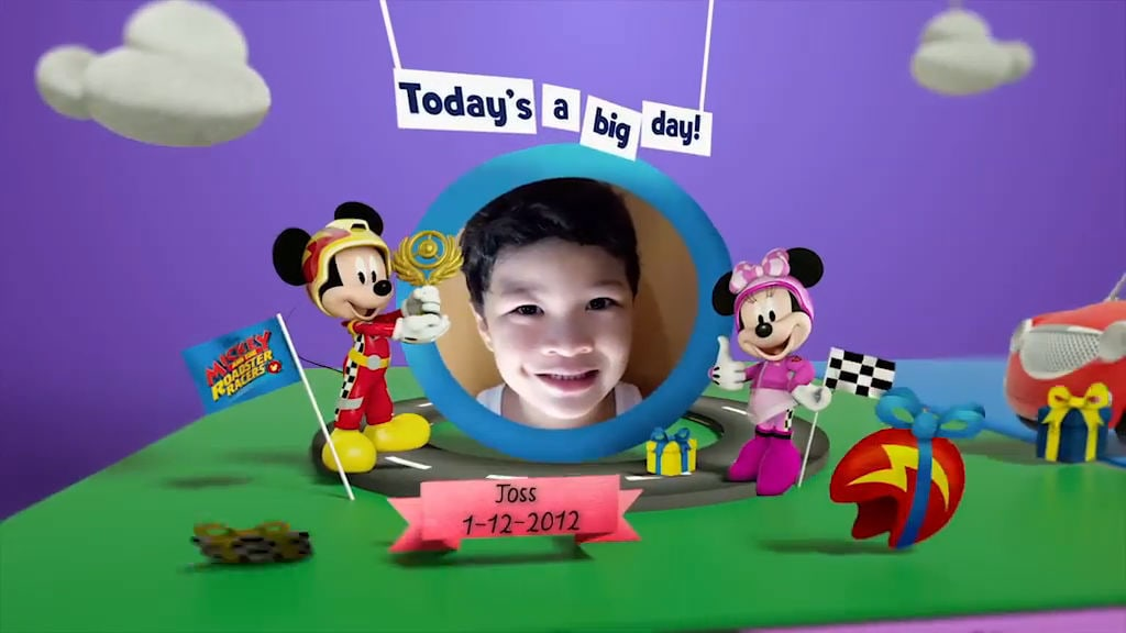 Disney Junior Birthday Book 2017 December Album 5