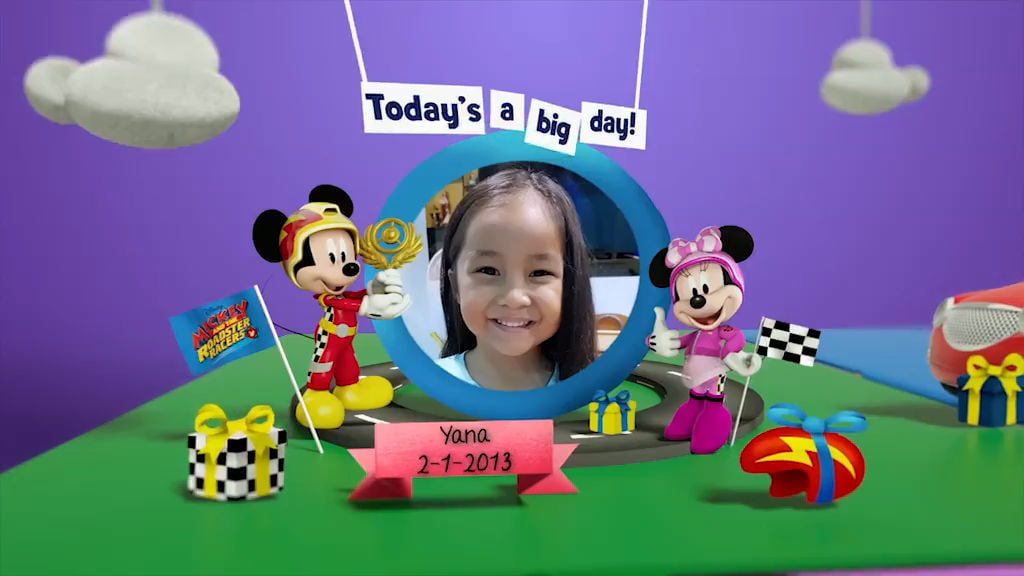 Disney Junior Birthday Book 2018 January Album 8