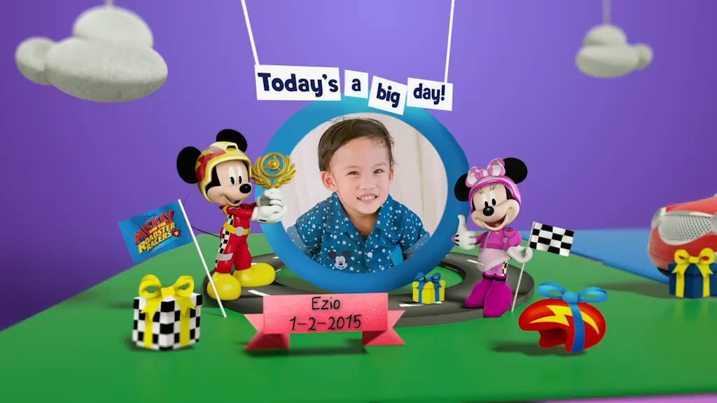 Disney Junior Birthday Book 2018 February Album 12