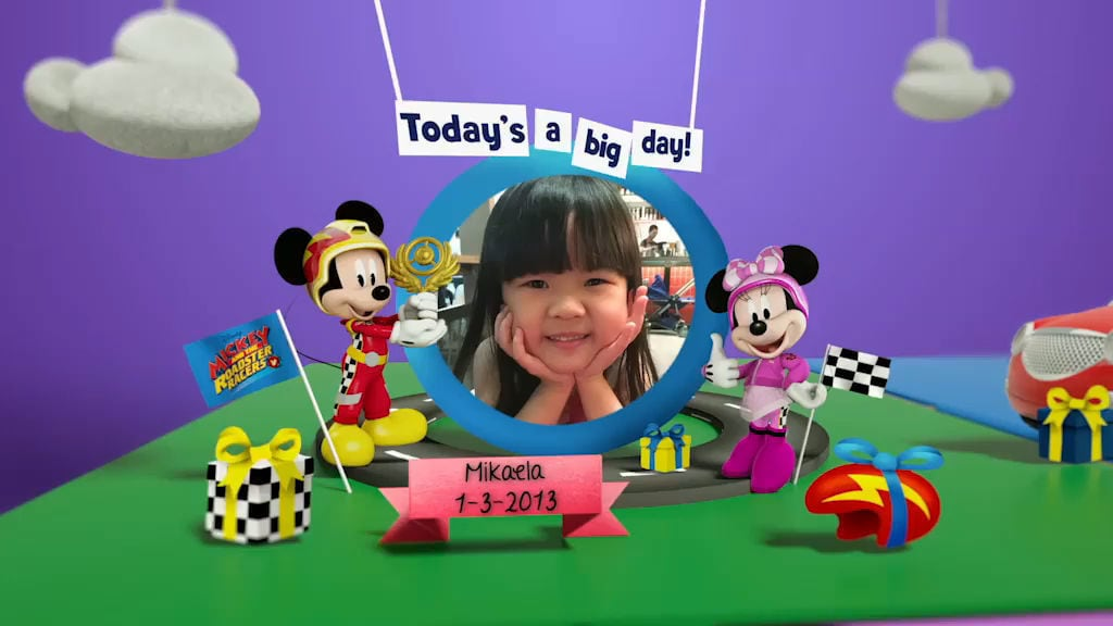Disney Junior Birthday Book 2018 March Album 10