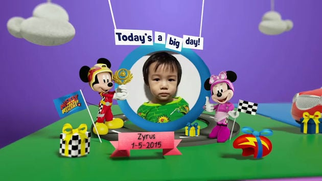 Disney Junior Birthday Book 2018 May Album 3