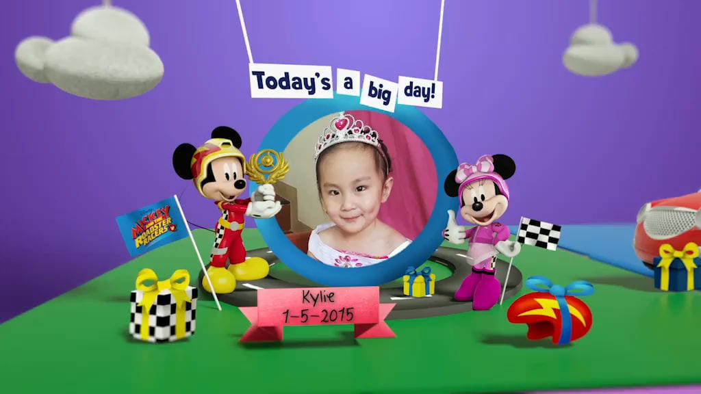 Disney Junior Birthday Book 2018 May Album 5