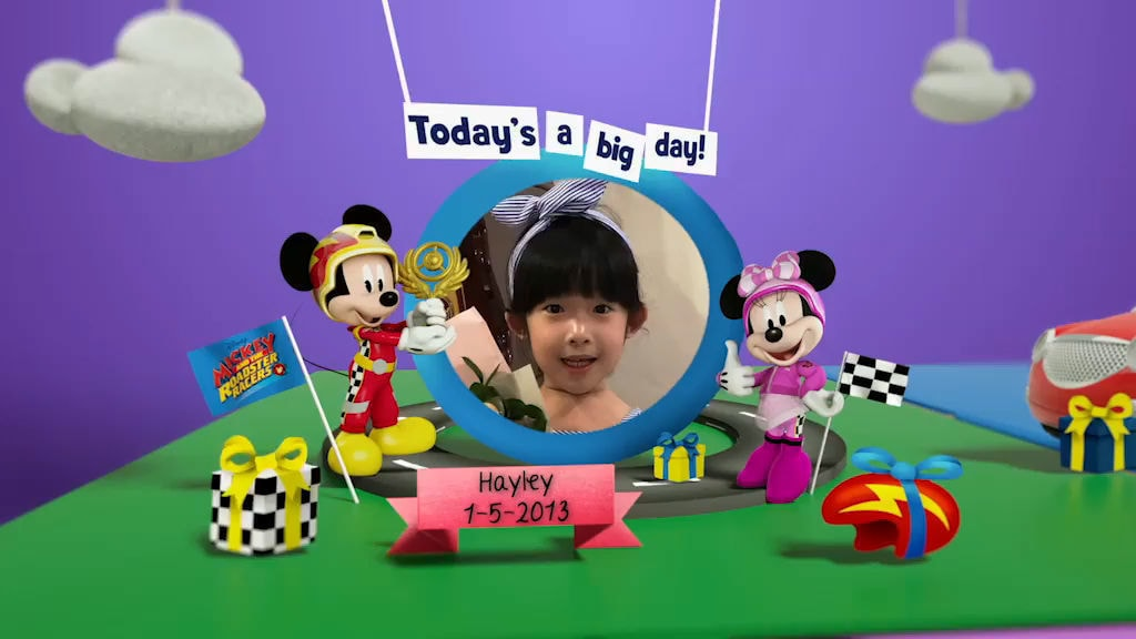 Disney Junior Birthday Book 2018 May Album 4