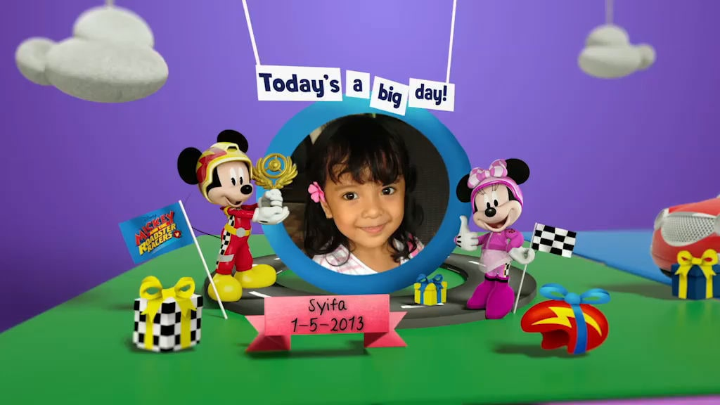 Disney Junior Birthday Book 2018 May Album 6
