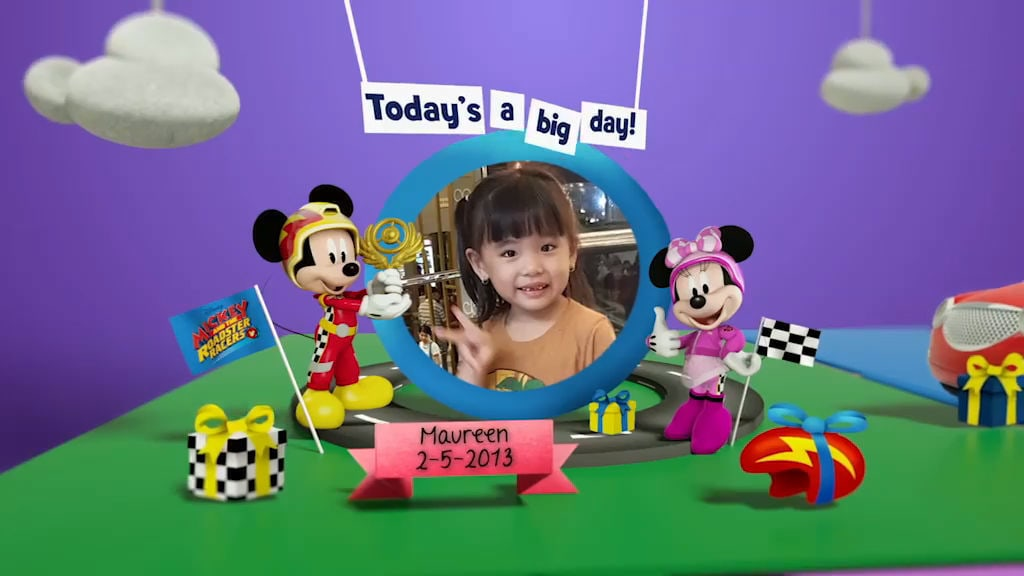 Disney Junior Birthday Book 2018 May Album 8