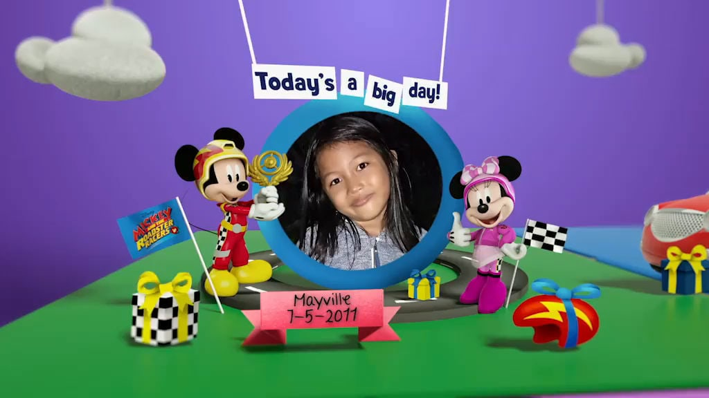 Disney Junior Birthday Book 2018 May Album 10