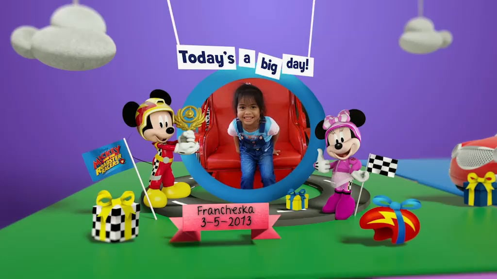 Disney Junior Birthday Book 2018 May Album 12