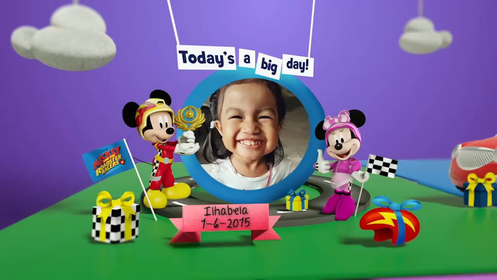 Disney Junior Birthday Book 2018 June Album 7