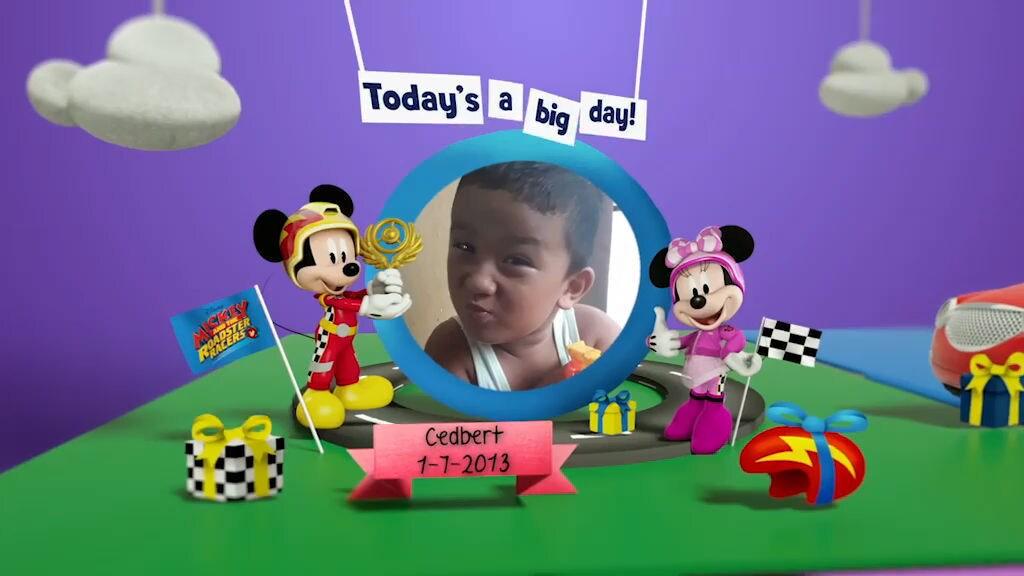 Disney Junior Birthday Book 2018 July Album 7