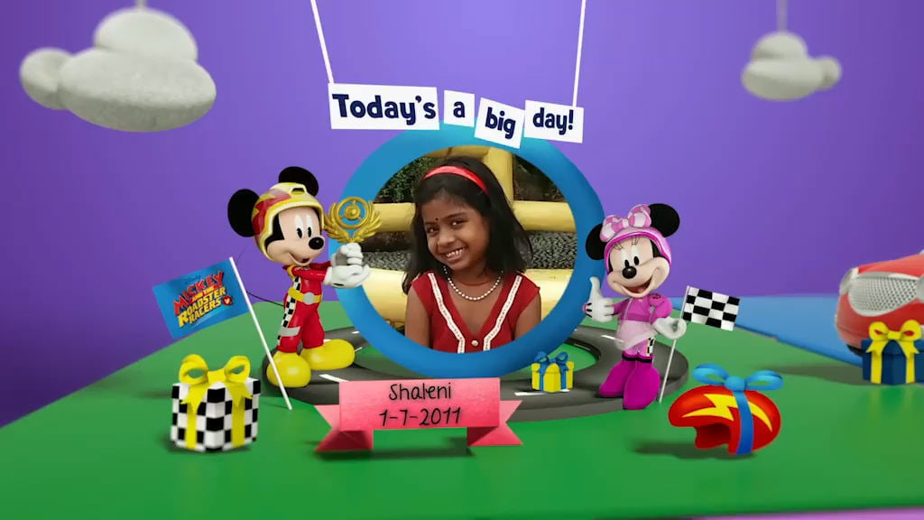 Disney Junior Birthday Book 2018 July Album 4