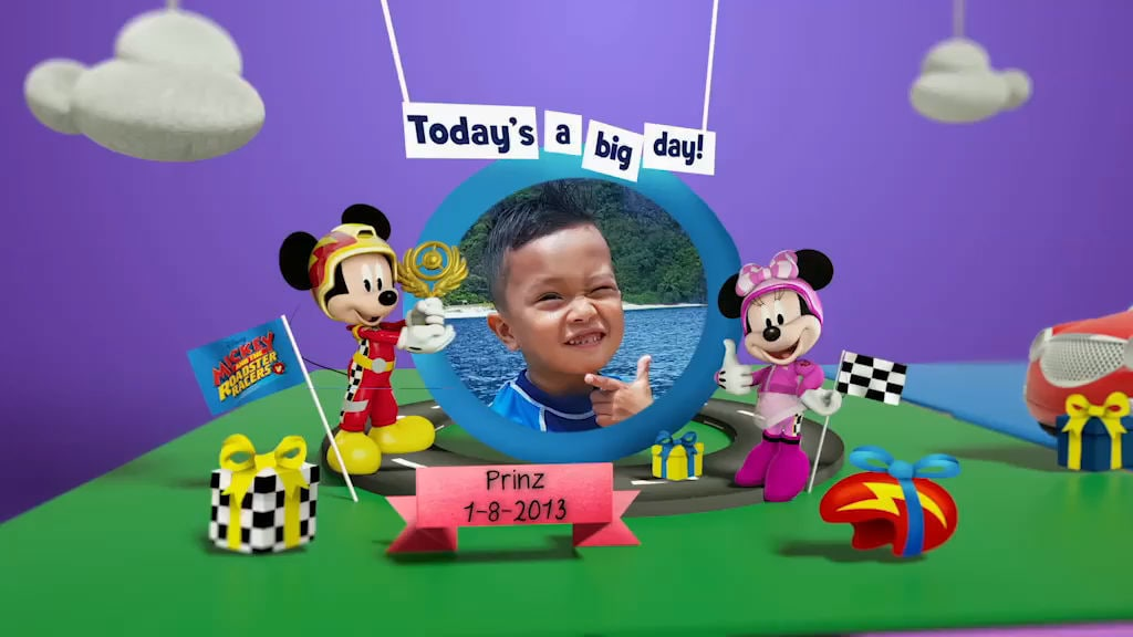 Disney Junior Birthday Book 2018 August Album 6