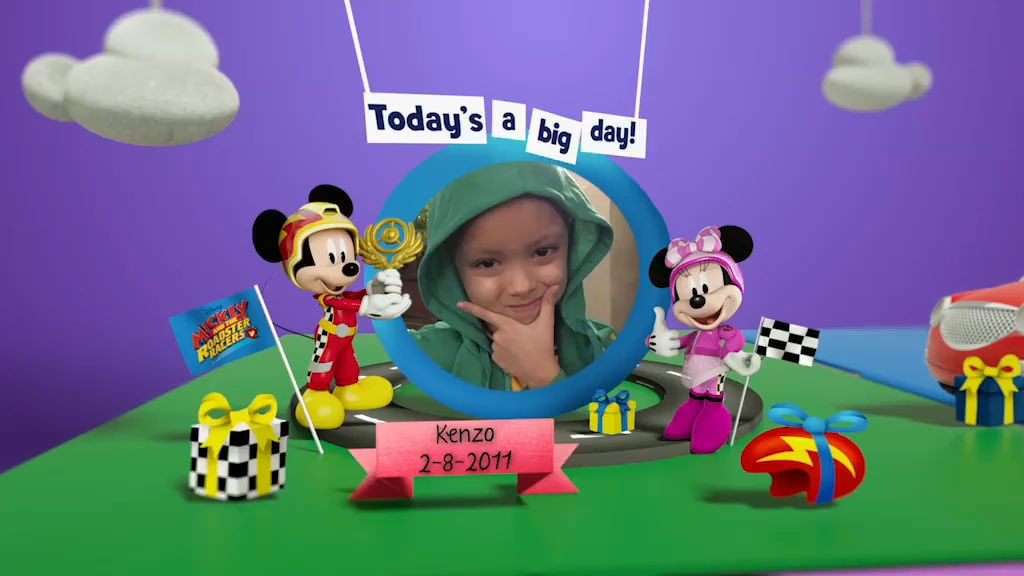 Disney Junior Birthday Book 2018 August Album 8