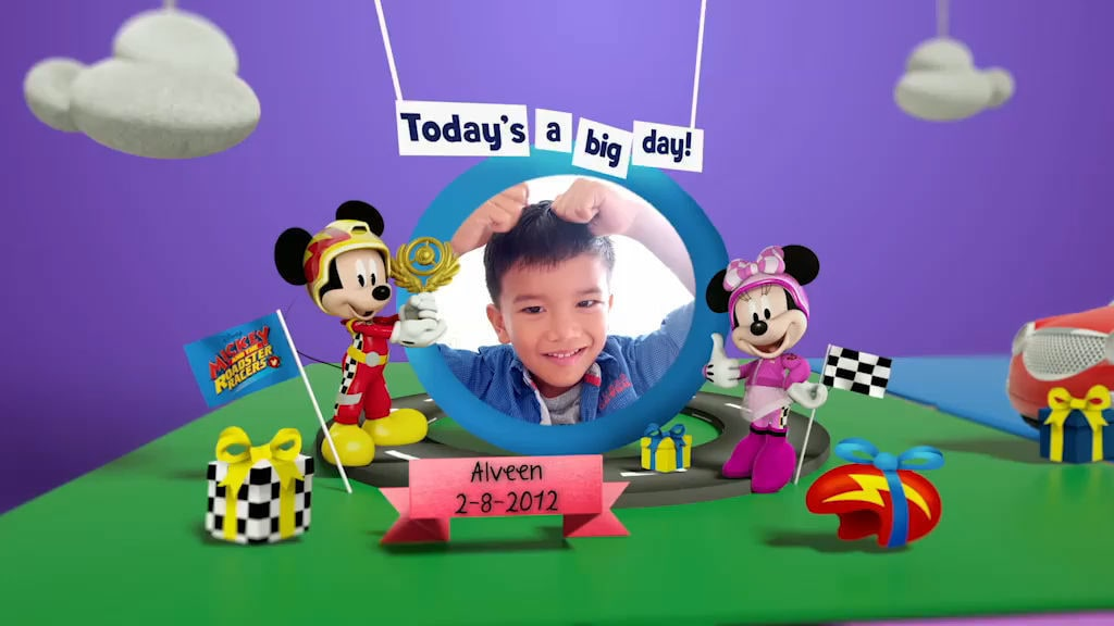 Disney Junior Birthday Book 2018 August Album 9
