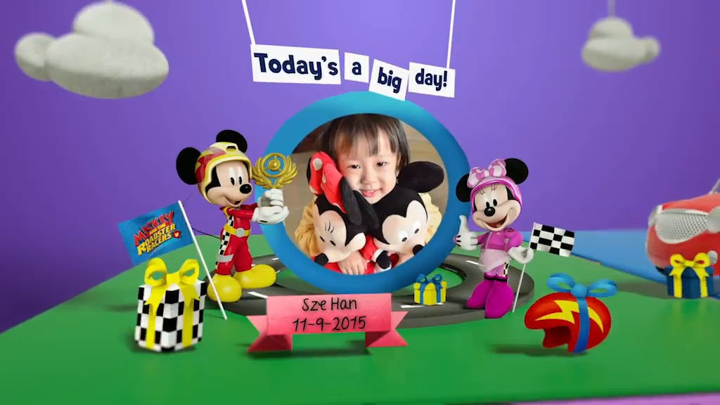 Disney Junior Birthday Book 2018 September Album 9