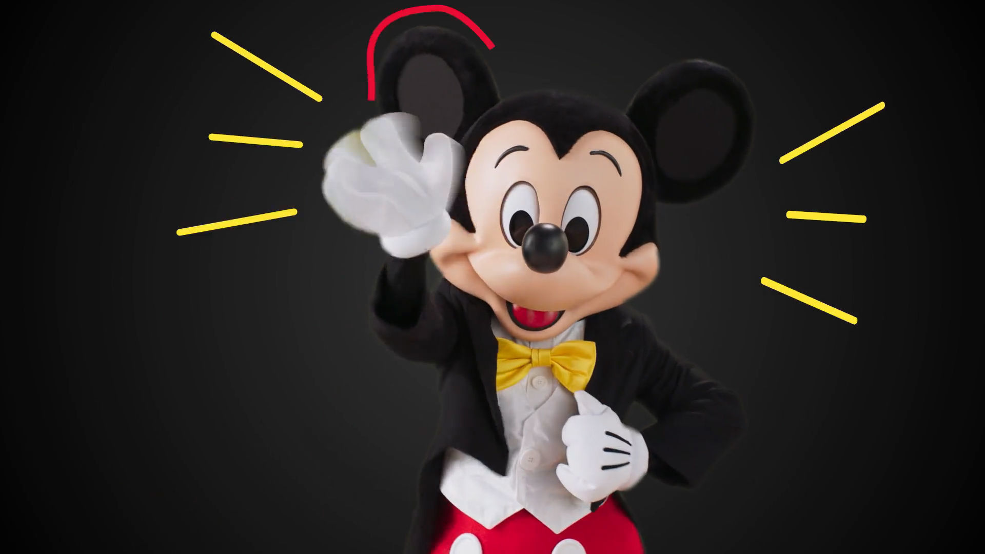 Mickey Share A Smile Campaign